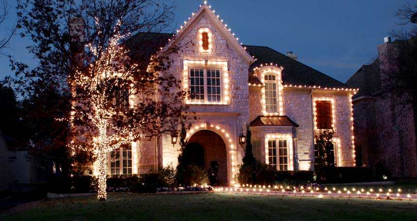 City Electricians Christmas Light installation
